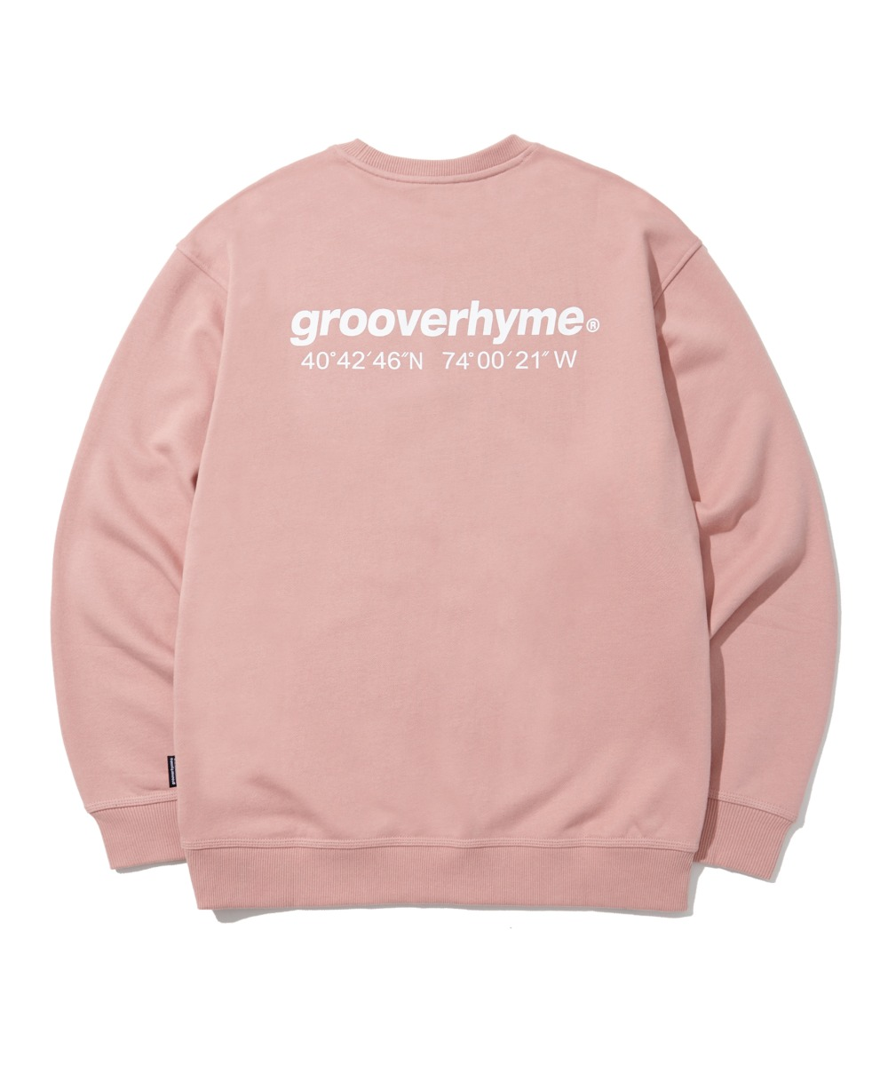 NYC LOCATION SWEAT SHIRTS (PINK) [LRPSCTM301MPIA]