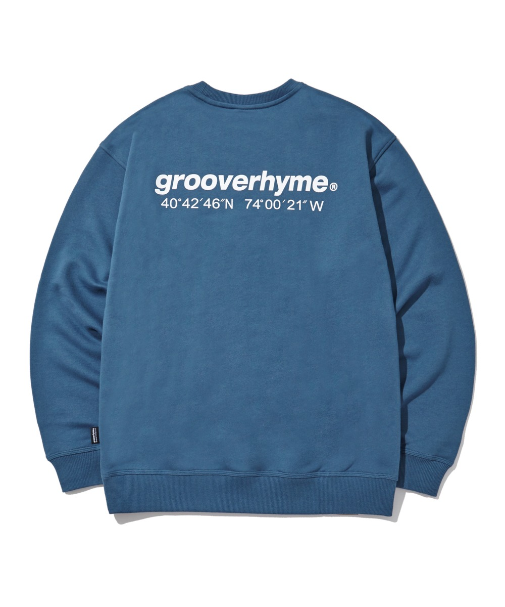 NYC LOCATION SWEAT SHIRTS (LIGHT NAVY) [LRPSCTM301MNAL]