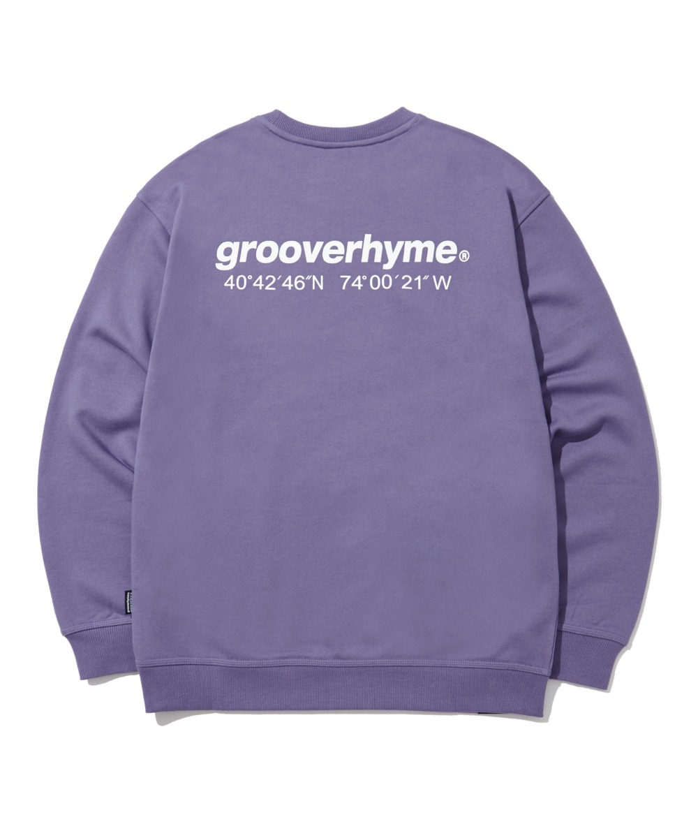 NYC LOCATION SWEAT SHIRTS (PURPLE) [LRPSCTM301MPPA]