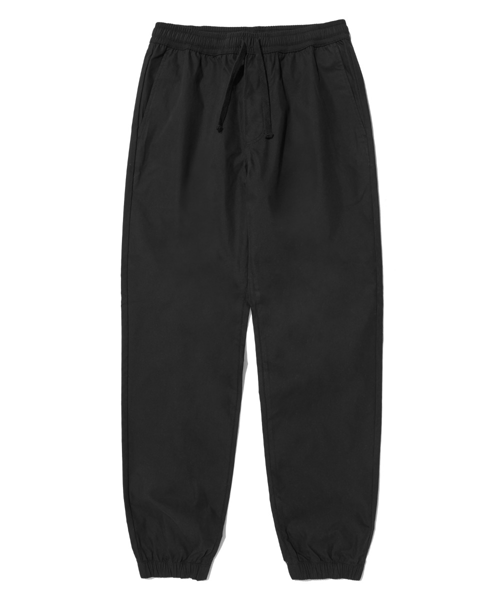 COMFORTABLE TAPERED JOGGER PANTS (BLACK) [LRPSCPJ711MBKA]