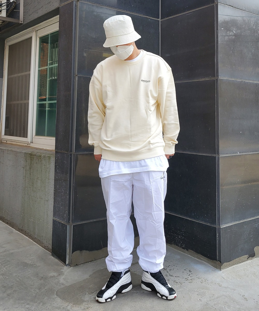 NYC Location Sweat Shirts (Ivory)