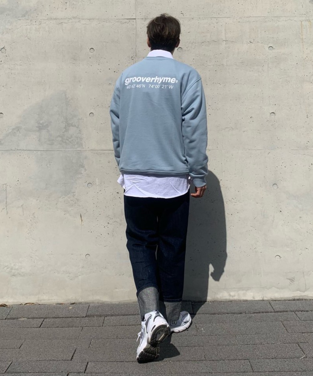 NYC Location Sweat Shirts (Light Blue)
