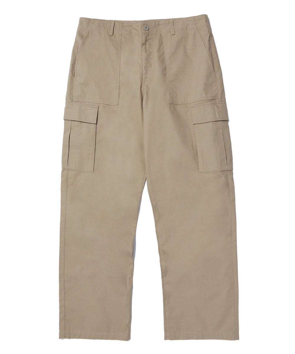 FATIGUE WIDE PANTS (BEIGE) [LRPSCPA713MBEA]