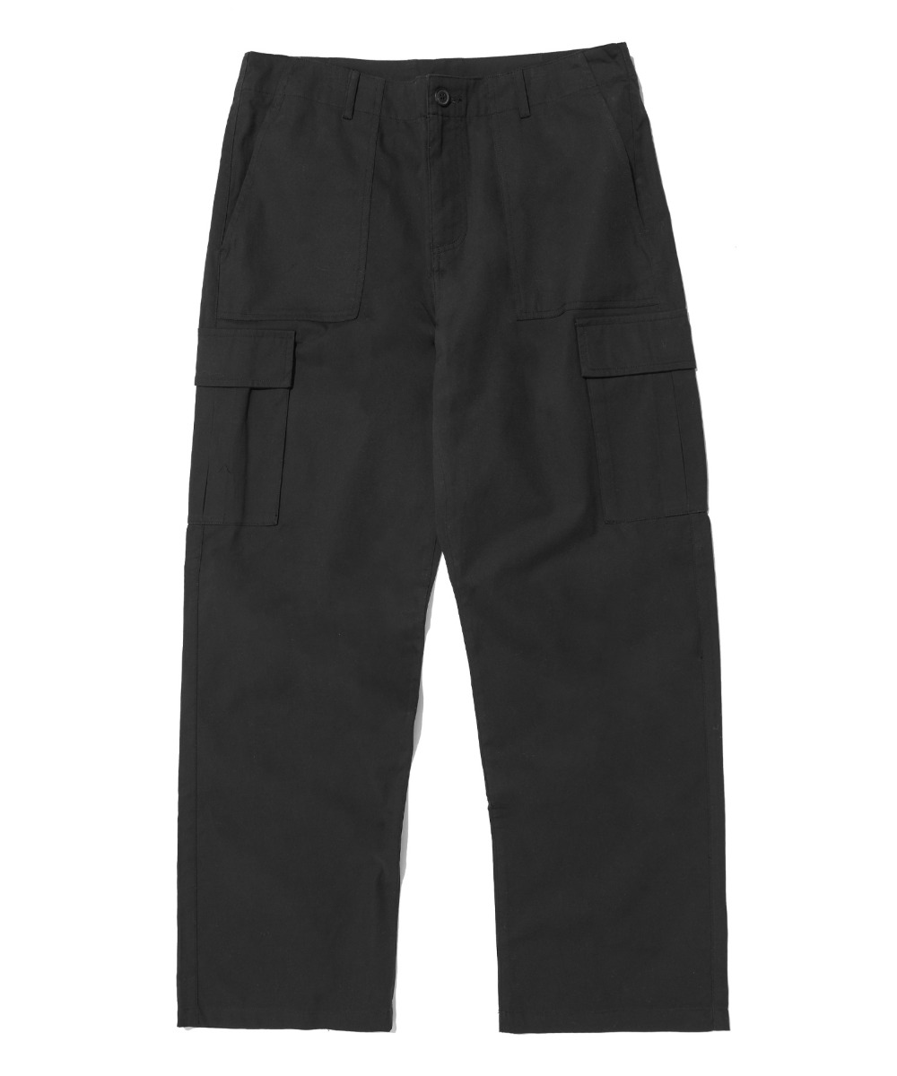 FATIGUE WIDE PANTS (BLACK) [LRPSCPA713MBKA]