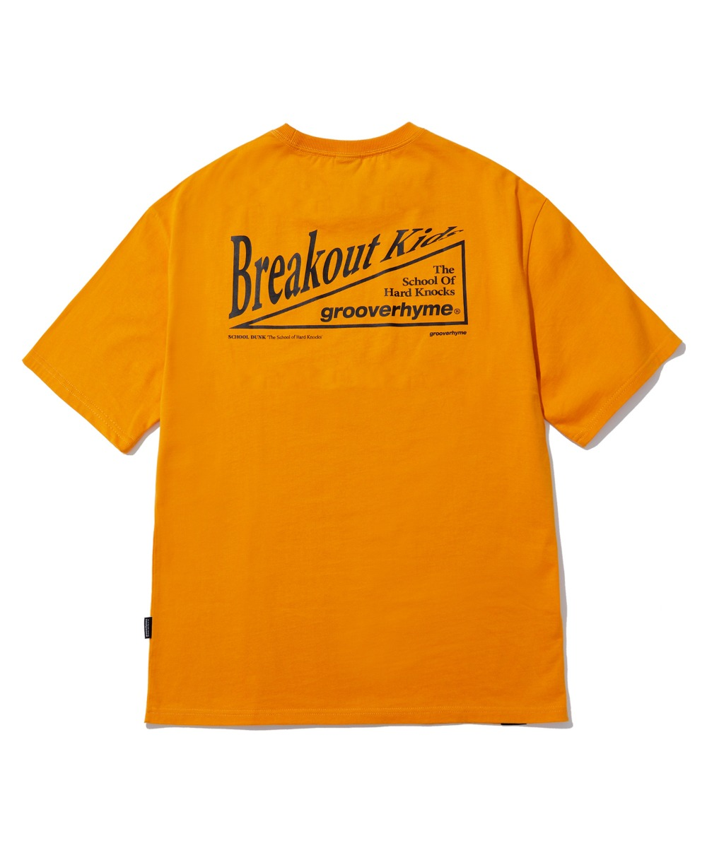 BREAKOUT KIDS T-SHIRTS (LIGHT ORANGE) [LRPMCTA438MORL]
