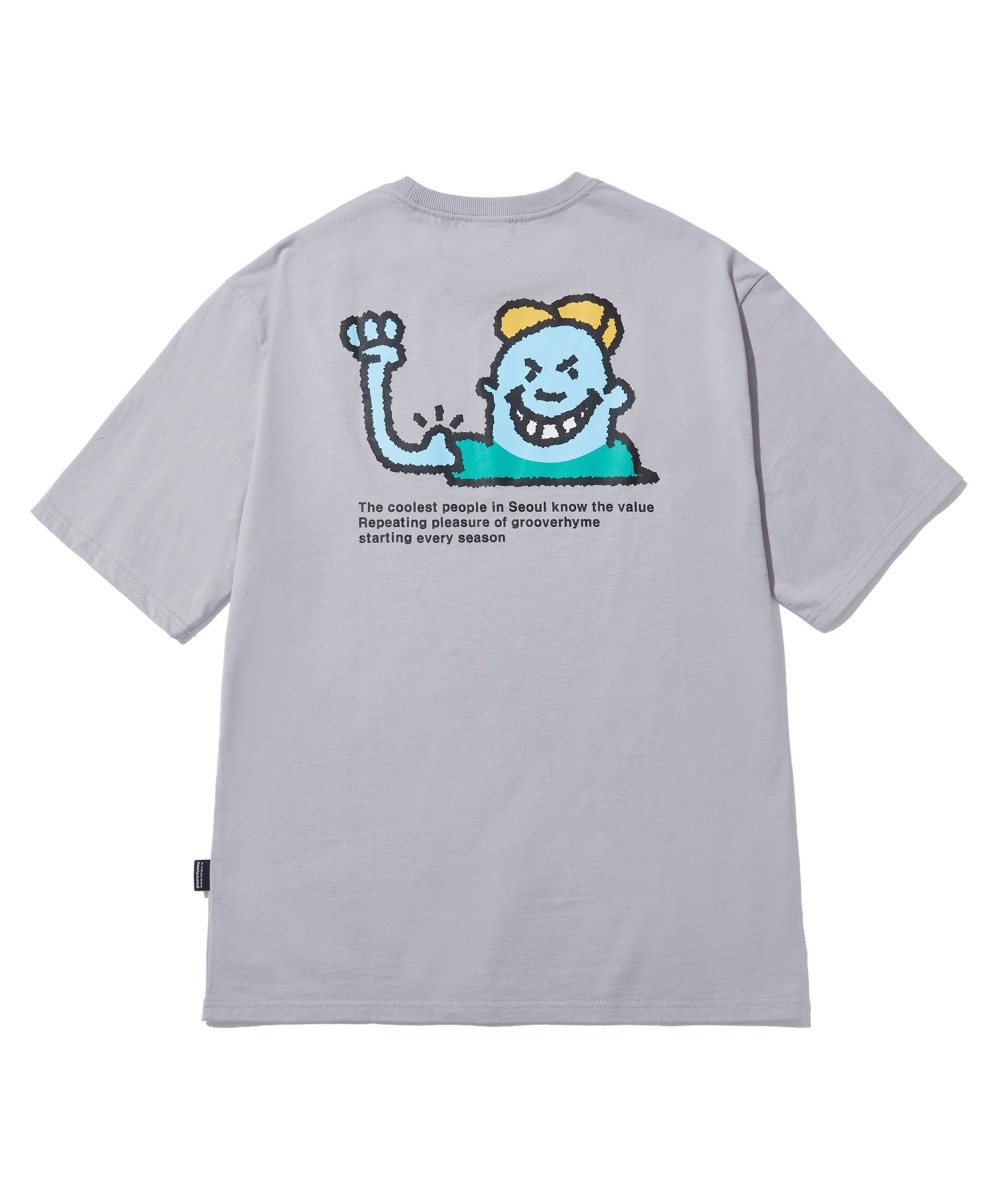 BULLY CHILD T-SHIRTS (LIGHT GREY) [LRPMCTA422MGYL]