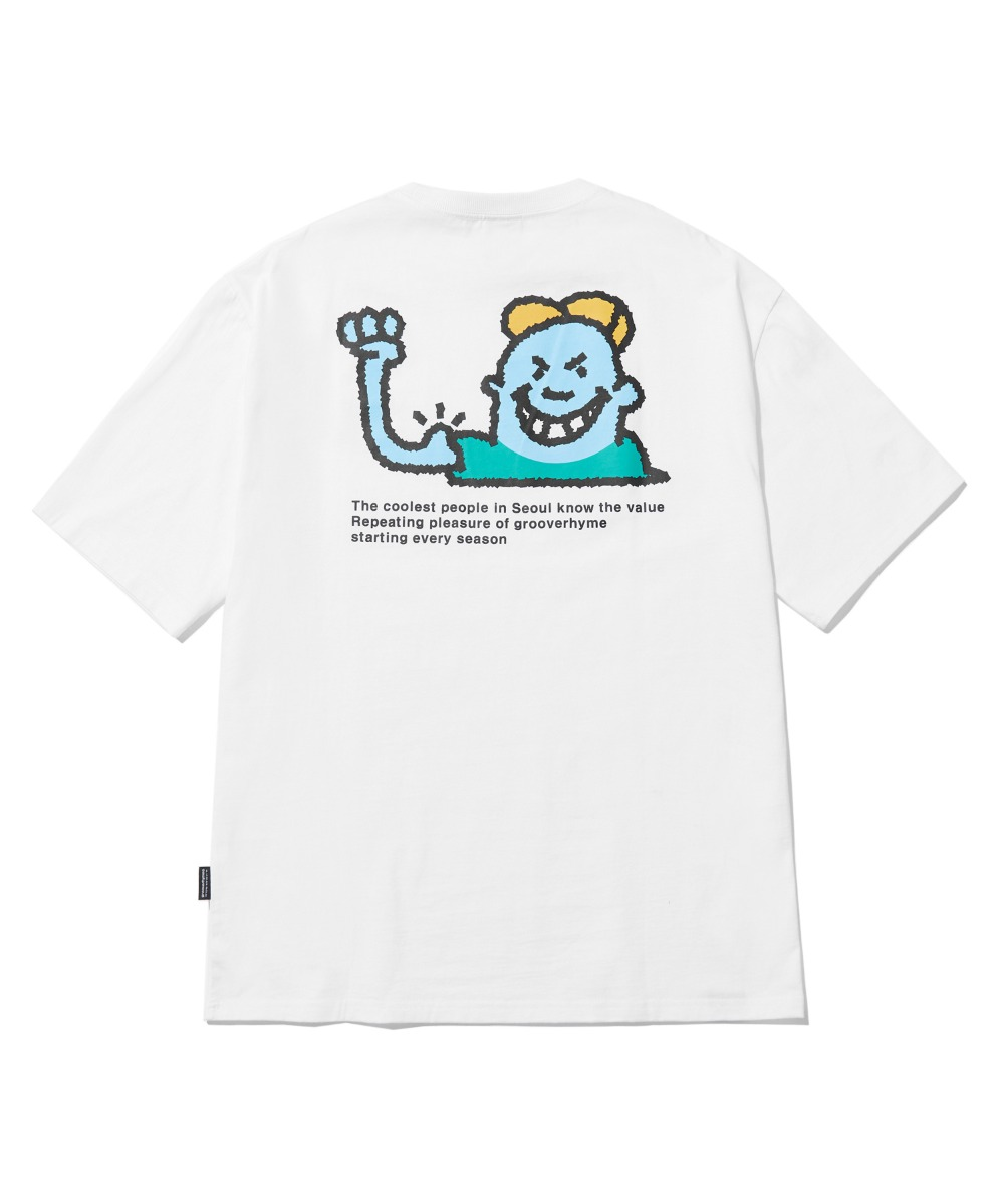 BULLY CHILD T-SHIRTS (WHITE) [LRPMCTA422MWHA]