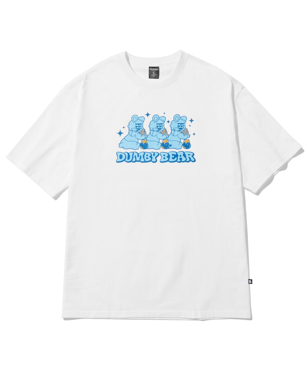 TRIPLE DUMBY T-SHIRT (WHITE) [LBPMCTA461MWHA]