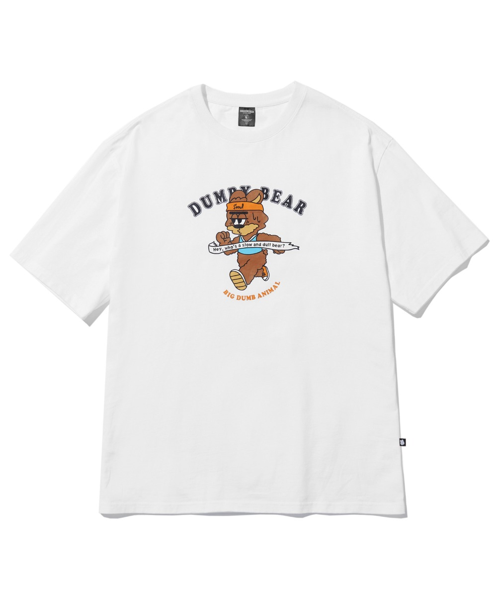 RUNNING DUMBY T-SHIRT (WHITE) [LBPMCTA458MWHA]