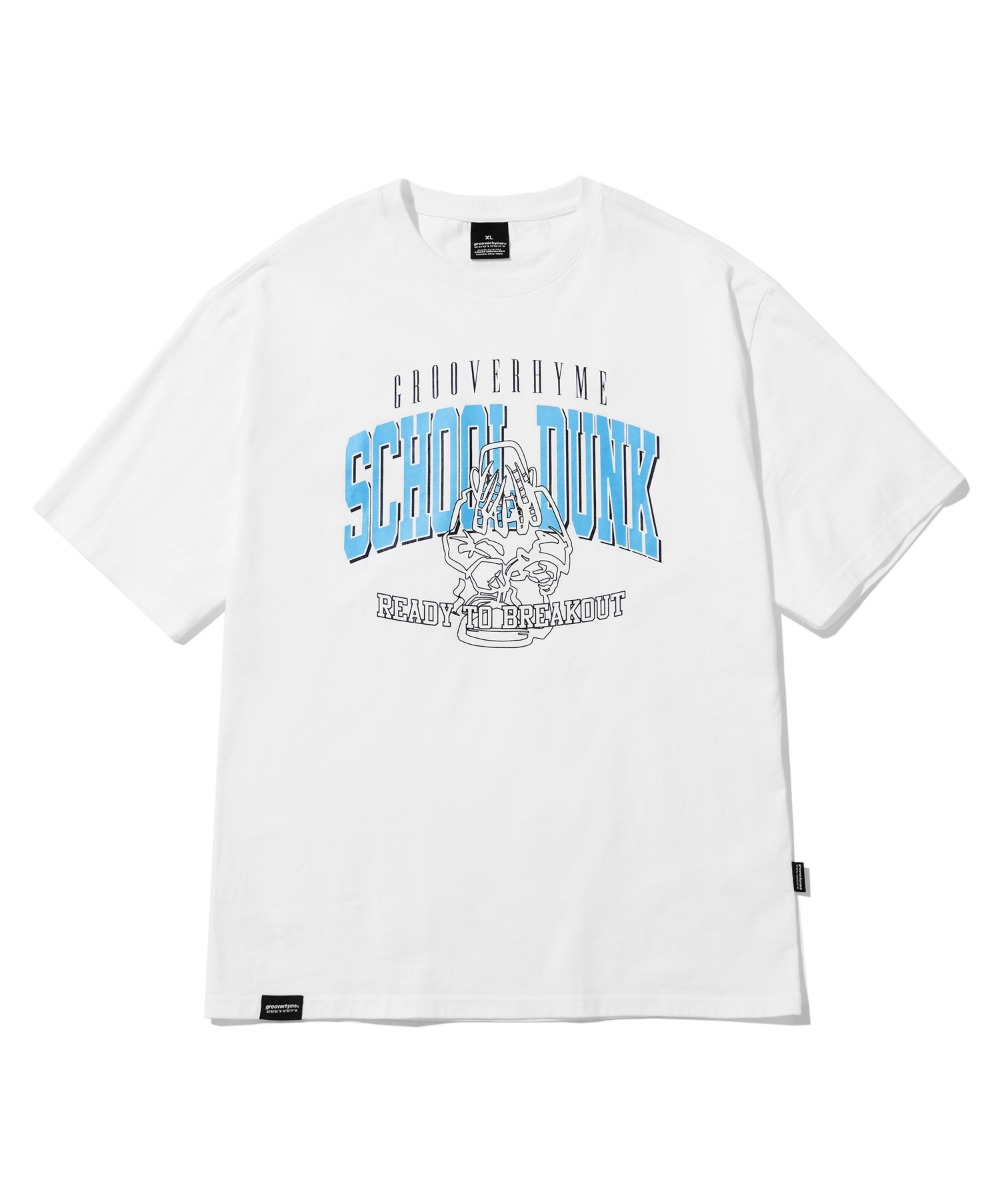 SCHOOL BOY T-SHIRTS(WHITE) [LRPMCTA440MWHA]