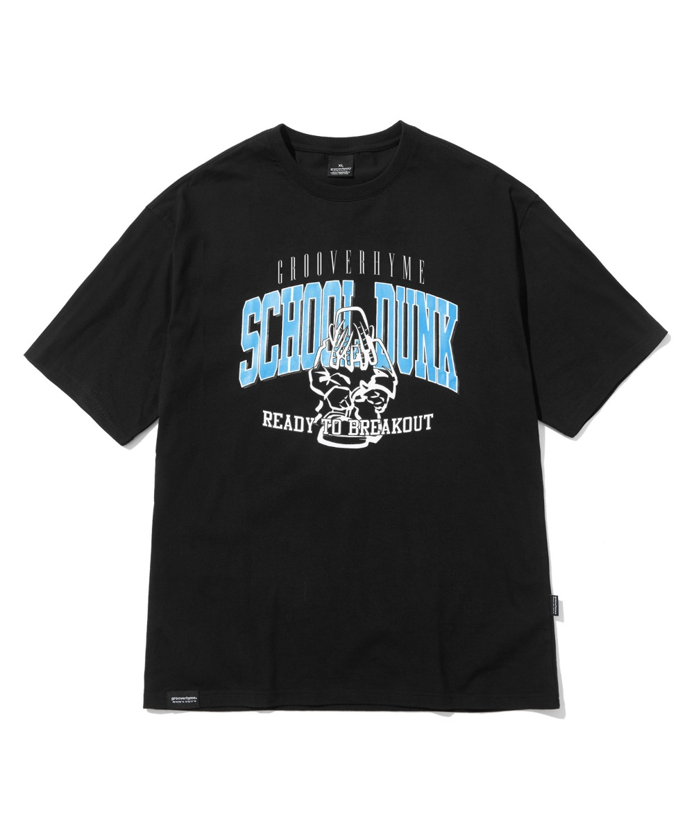 SCHOOL BOY T-SHIRTS(BLACK) [LRPMCTA440MBKA]