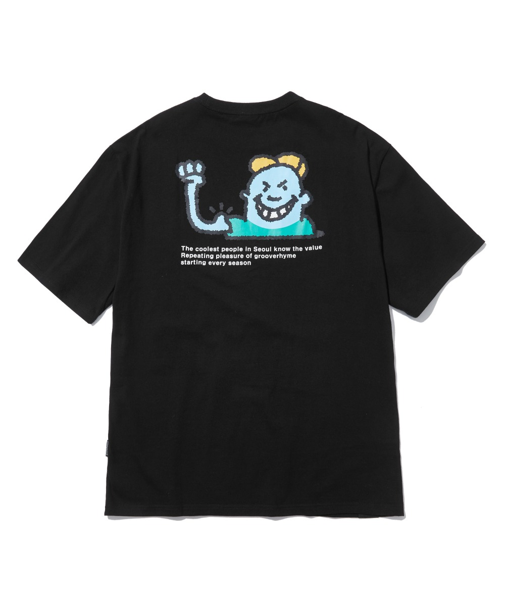 BULLY CHILD T-SHIRTS (BLACK) [LRPMCTA422MBKA]