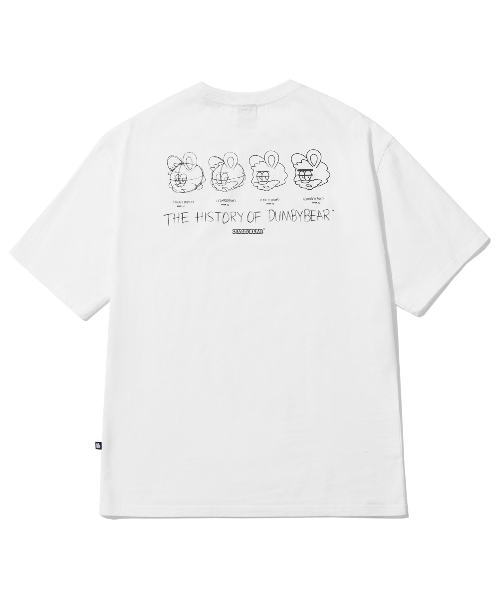 BORN TO DUMBY T-SHIRT (WHITE) [LBPMCTA453MWHA]