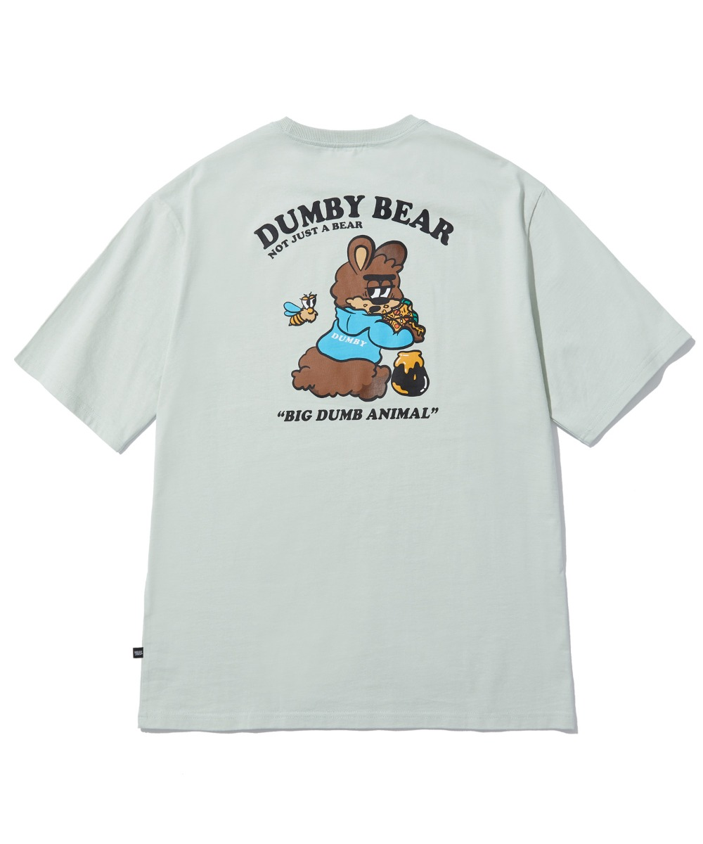 EATING HONEY T-SHIRT (MINT) [LBPMCTA455MMIA]