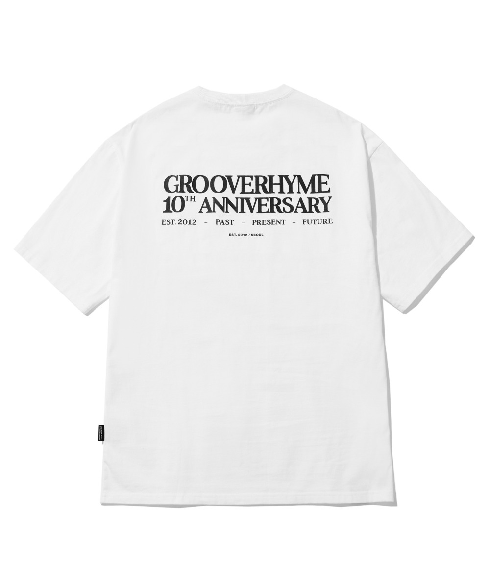 10TH ANNIVERSARY T-SHIRTS (WHITE) [LRPMCTA442MWHA]