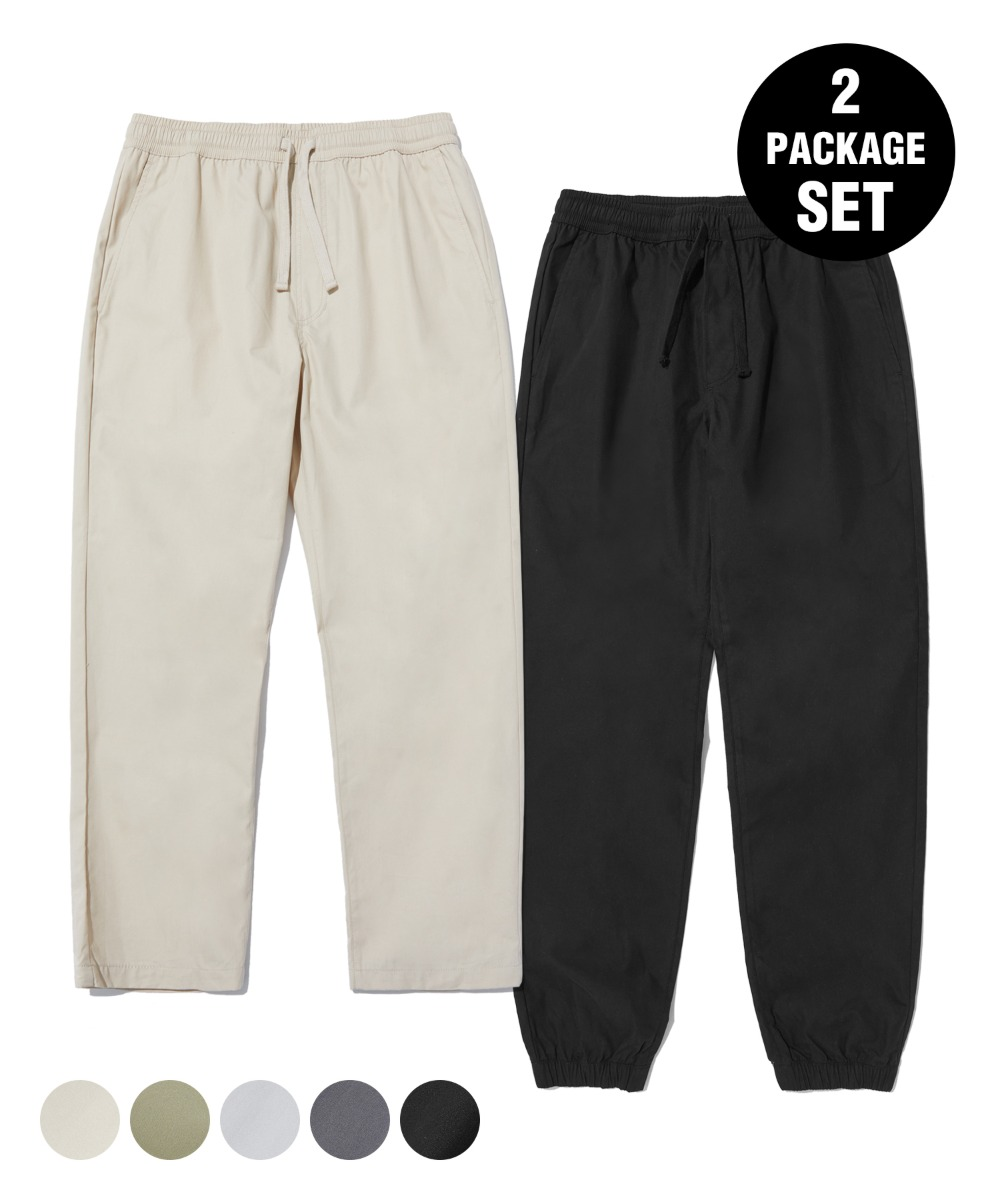 [1+1] TAPERED CROP & JOGGER PANTS (5color) [LRPSCPJ711M / LRPSCPA712M]