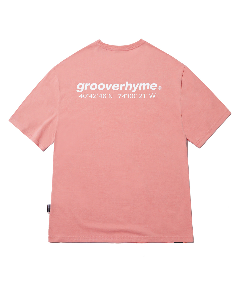 NYC LOCATION T-SHIRT (LIGHT PINK) [GTS721I23LP]