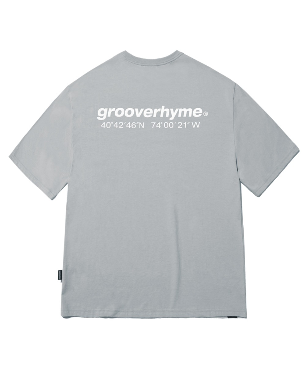 NYC LOCATION T-SHIRT (LIGHT GREY) [GTS721I23LG]