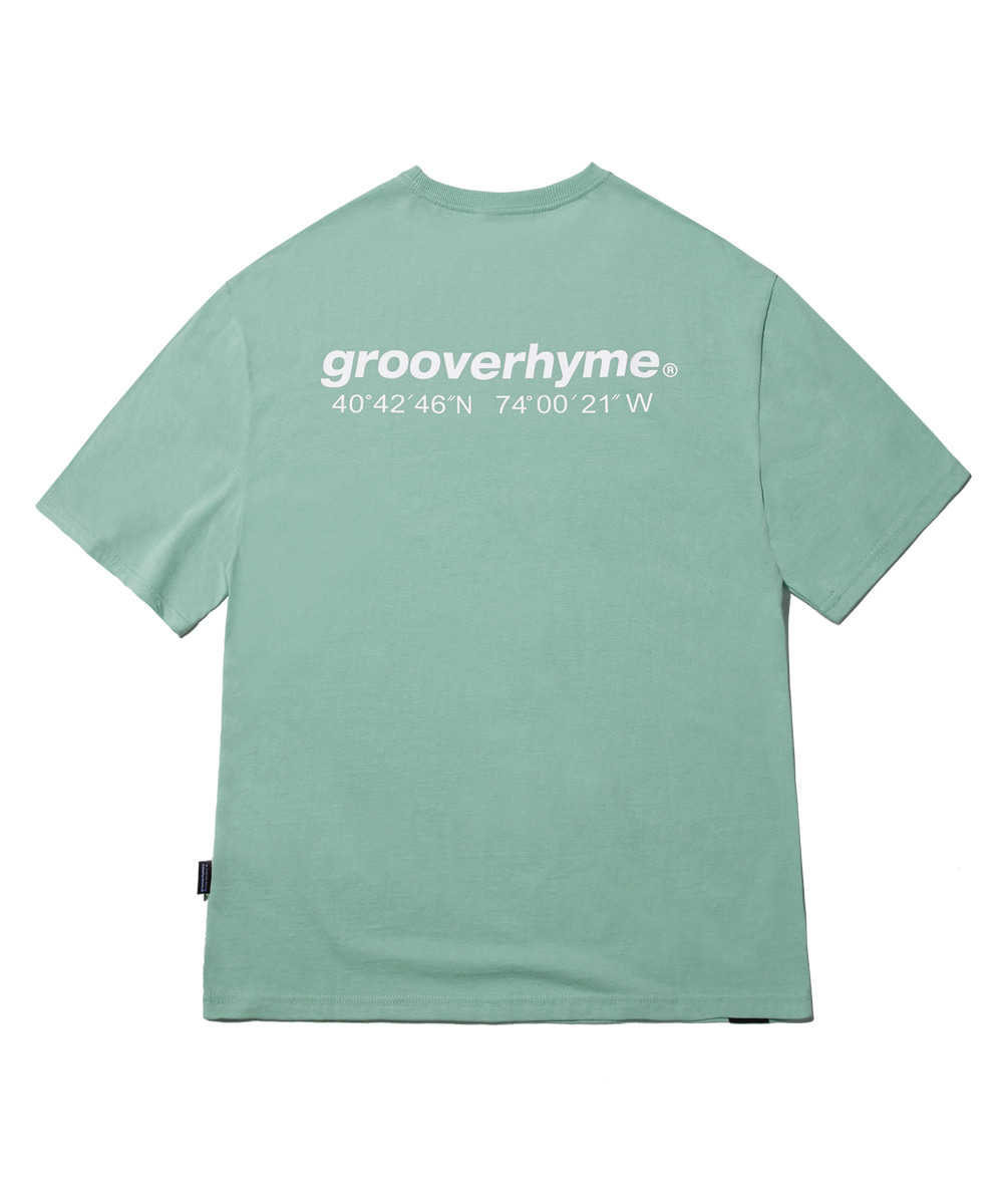 NYC LOCATION T-SHIRT (DARK MINT) [GTS721I23DM]