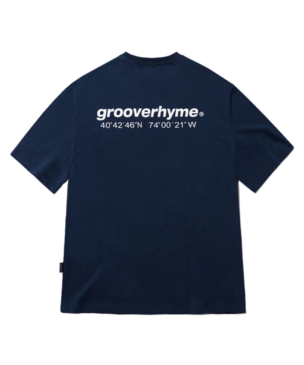 NYC LOCATION T-SHIRT (NAVY) [GTS721I23NA]