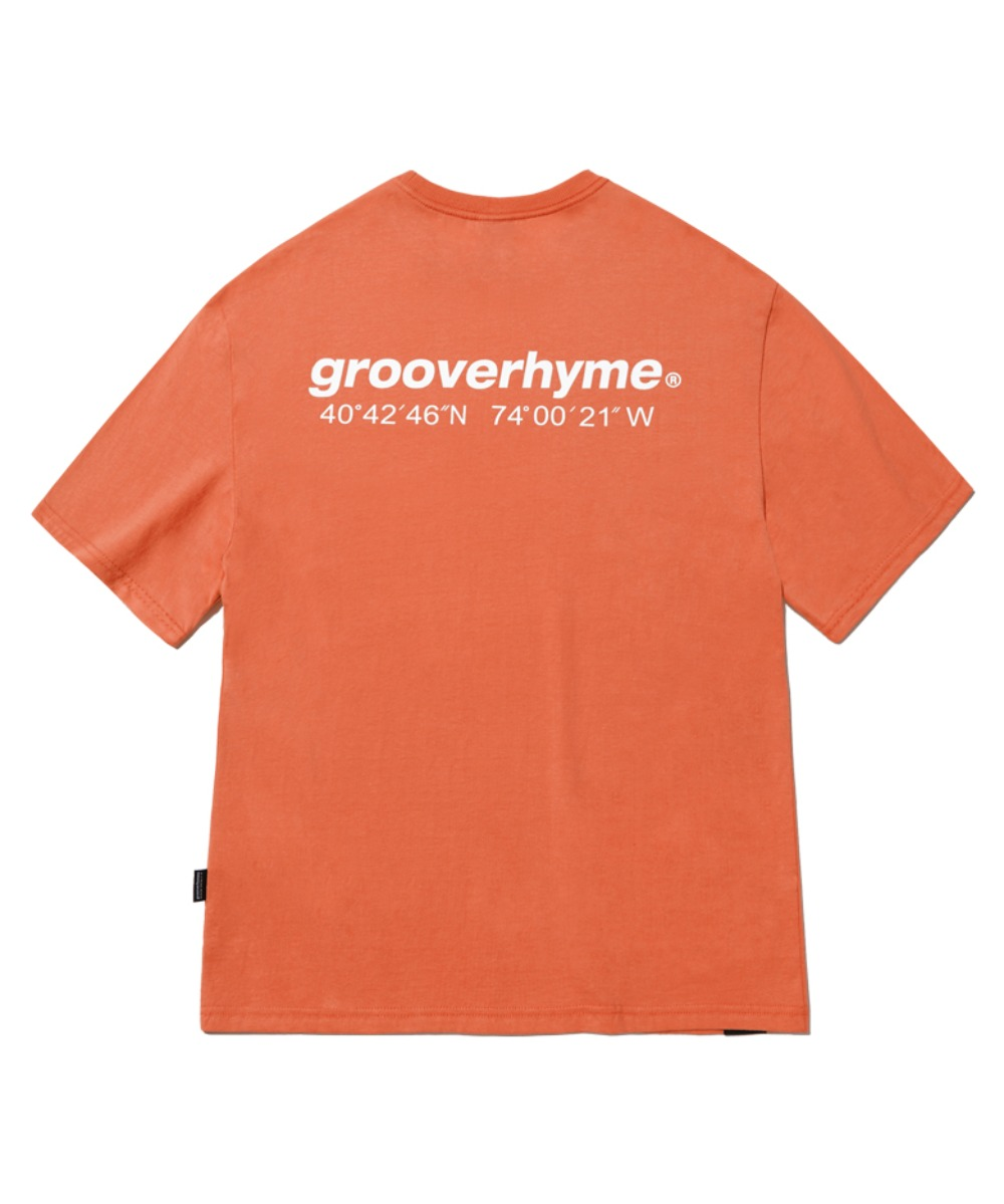 NYC LOCATION T-SHIRT (ORANGE) [GTS721I23OR]