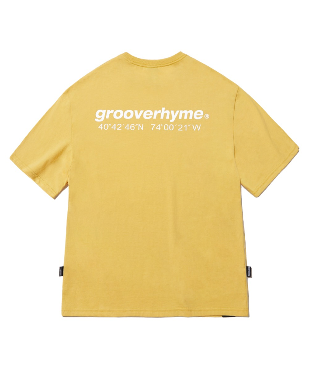 NYC LOCATION T-SHIRT (YELLOW) [GTS721I23YE]
