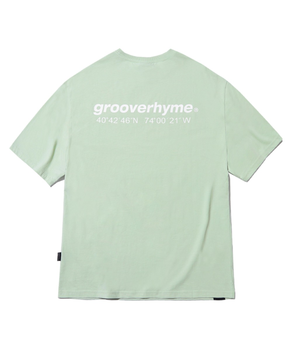 NYC LOCATION T-SHIRT (MINT) [GTS721I23MI]