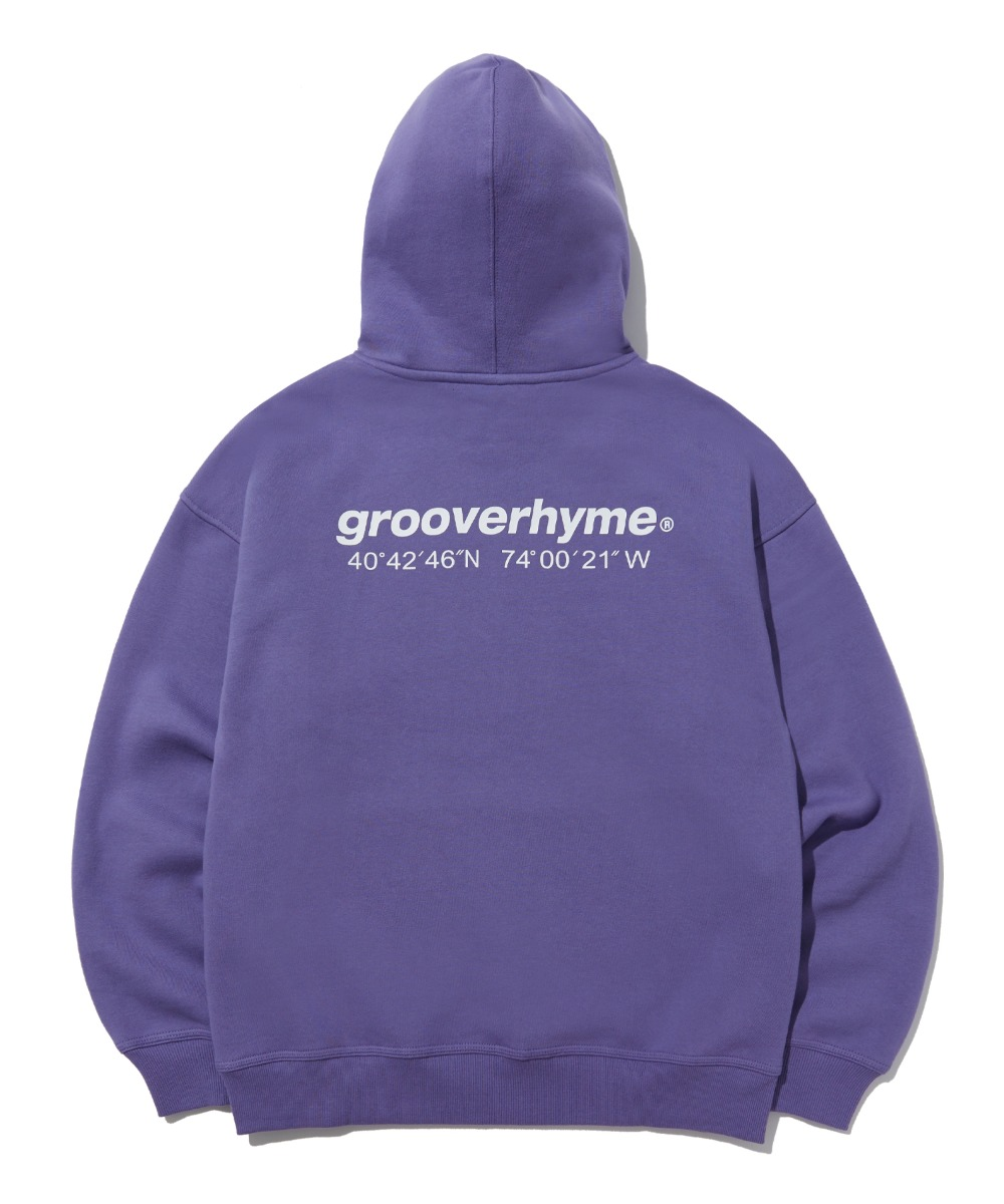 NYC LOCATION HOODIE (PURPLE) [LROWCTH731MPPA]