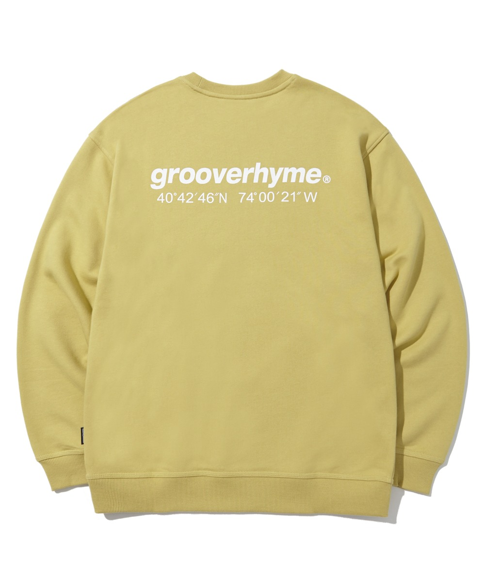 (기모) NYC LOCATION SWEAT SHIRTS (OLIVE) [LROWCTM712MOVA]
