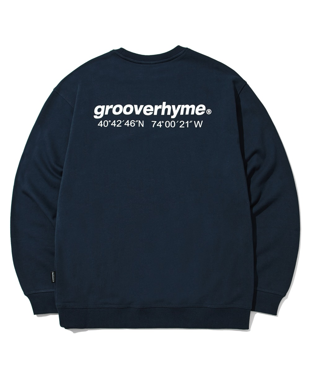 (기모) NYC LOCATION SWEAT SHIRTS (NAVY) [LROWCTM712MNAA]