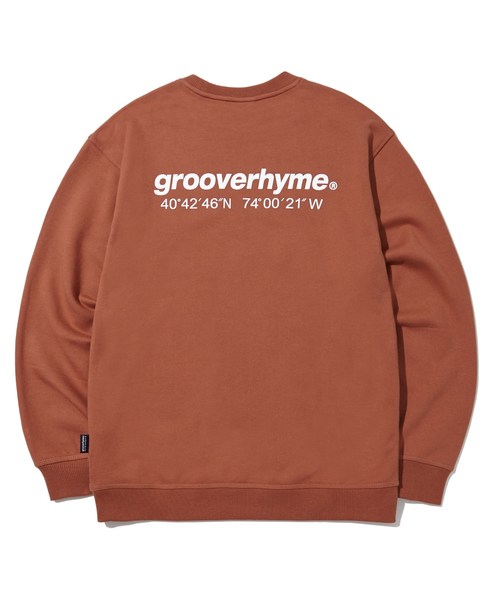 (기모) NYC LOCATION SWEAT SHIRTS (BRICK) [LROWCTM712MBCA]