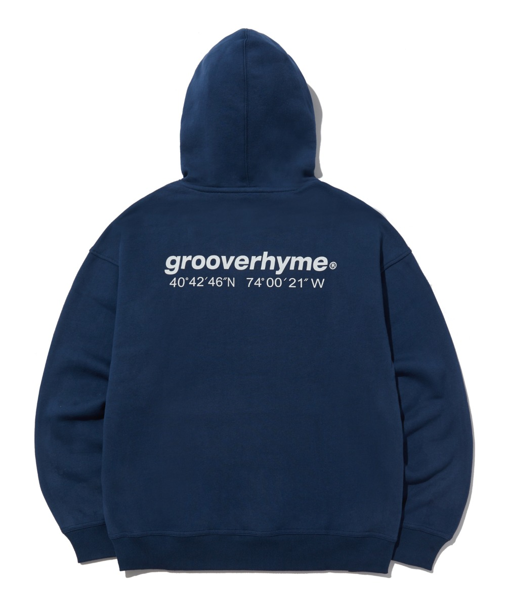 NYC LOCATION HOODIE (NAVY) [LROWCTH731MNAA]