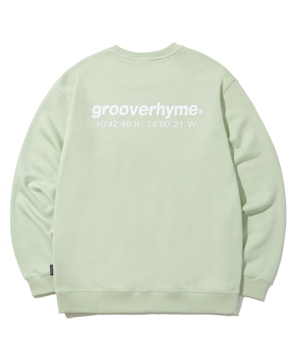 (기모) NYC LOCATION SWEAT SHIRTS (MINT) [LROWCTM712MMIA]