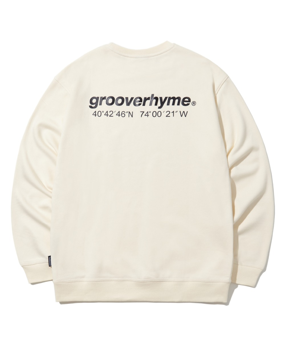 (기모) NYC LOCATION SWEAT SHIRTS (IVORY) [LROWCTM712MIVA]