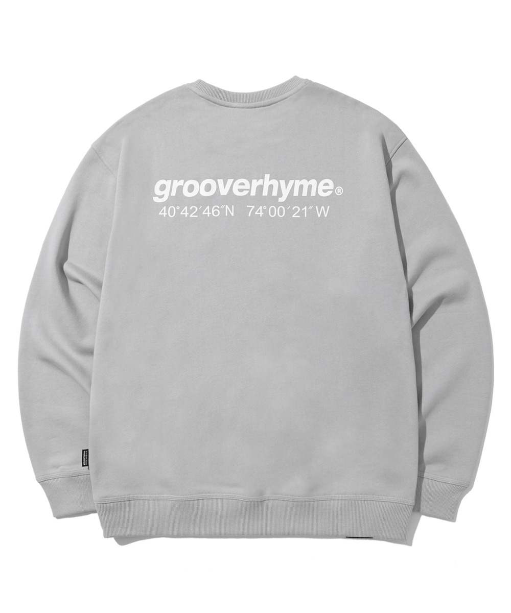 (기모) NYC LOCATION SWEAT SHIRTS (LIGHT GREY) [LROWCTM712MGYL]