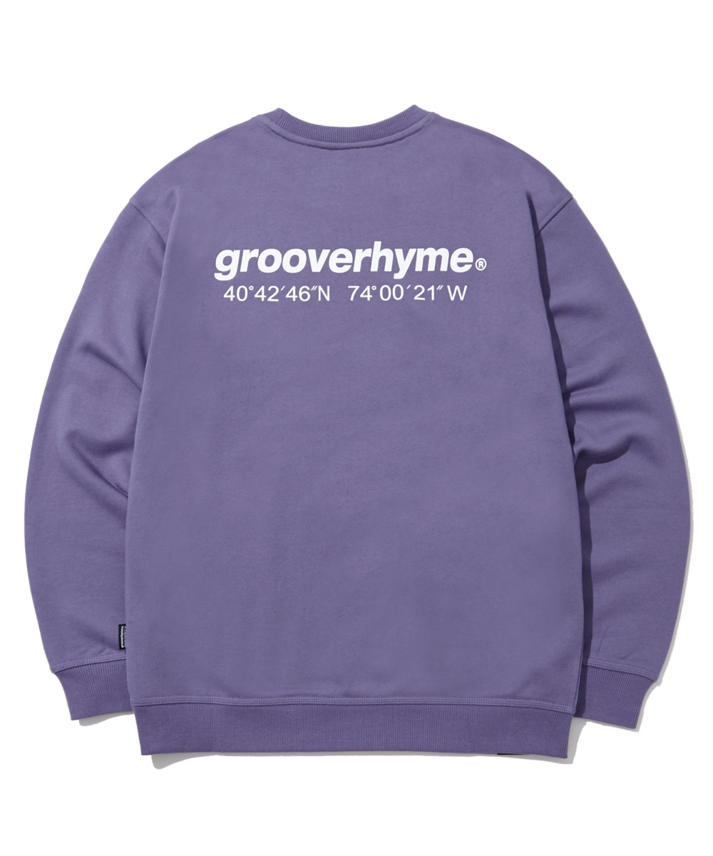 (기모) NYC LOCATION SWEAT SHIRTS (PURPLE) [LROWCTM712MPPA]