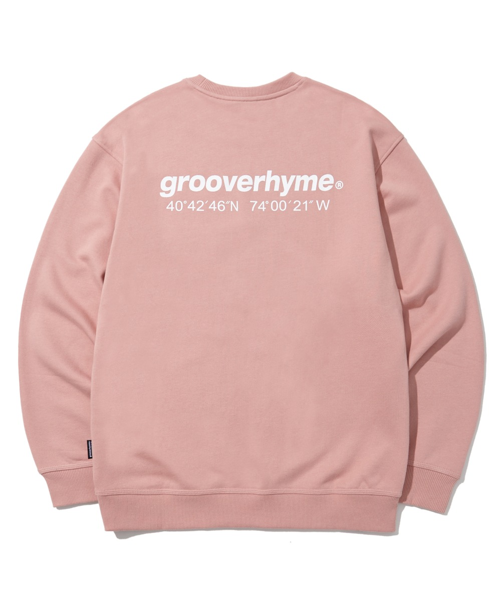 (기모) NYC LOCATION SWEAT SHIRTS (PINK) [LROWCTM712MPIA]