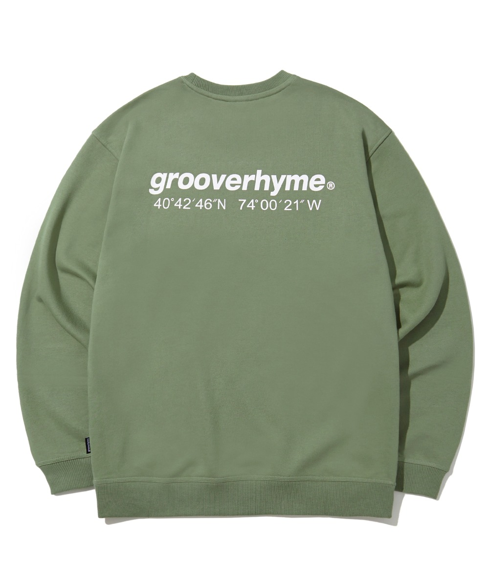 (기모) NYC LOCATION SWEAT SHIRTS (LIGHT KHAKI) [LROWCTM712MKHL]