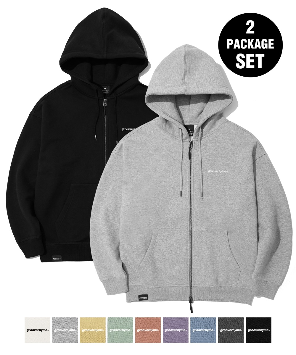 [1+1] NYC LOCATION HOOD ZIP-UP (9color) [LROWCTZ742M]