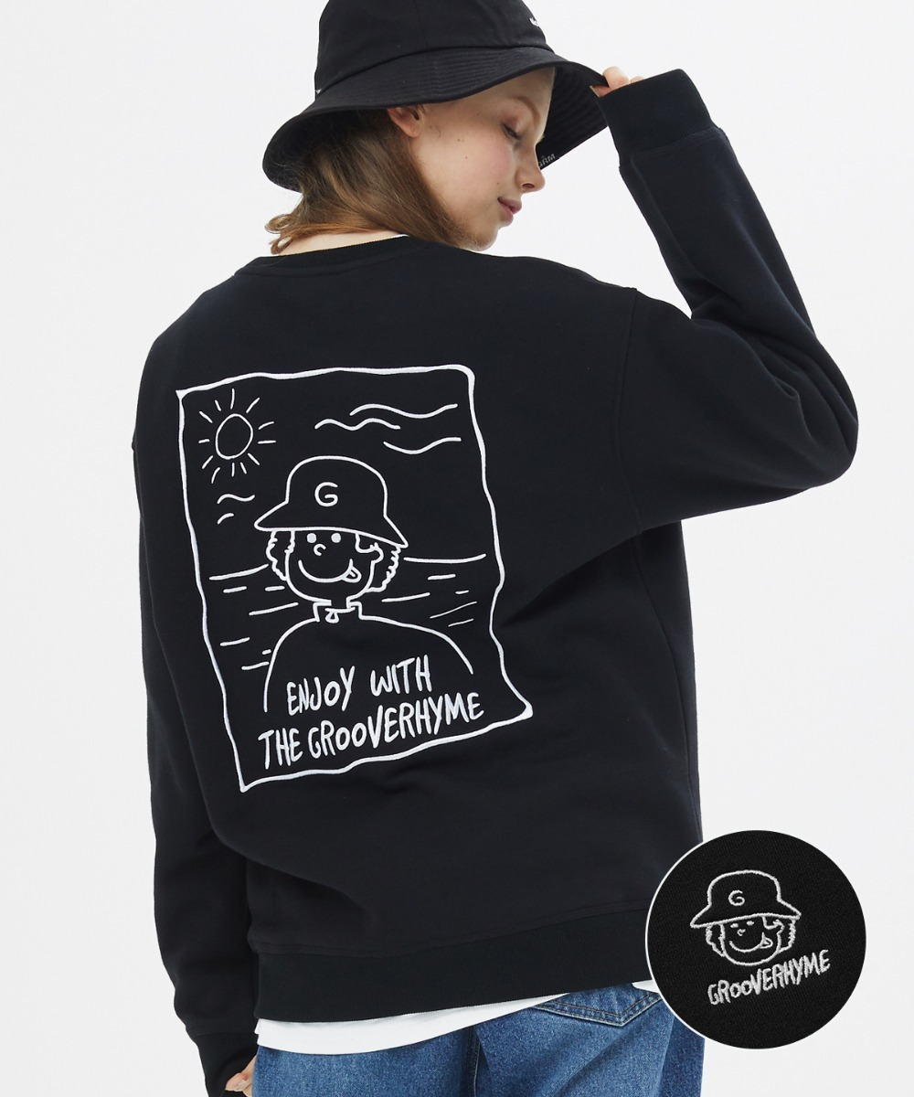 9TH UNTACT TRAVELING SWEAT SHIRTS [LROWCTM791M]