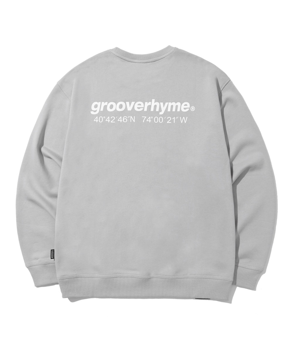NYC LOCATION SWEAT SHIRTS (LIGHT GREY) [LRPSCTM301MGYL]
