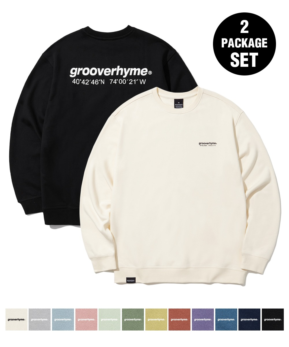 [1+1] NYC LOCATION SWEAT SHIRTS (12color) [LROFCTM711M]