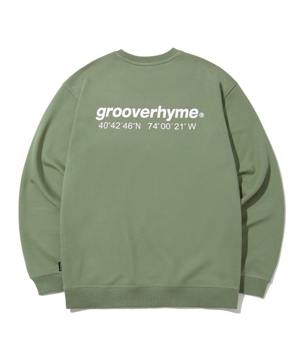 NYC LOCATION SWEAT SHIRTS (LIGHT KHAKI) [LRPSCTM301MKHL]
