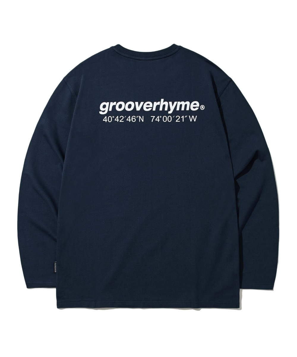 NYC LOCATION LONG SLEEVE T-SHIRTS (LIGHT NAVY) [LROFCTR721MNAL]