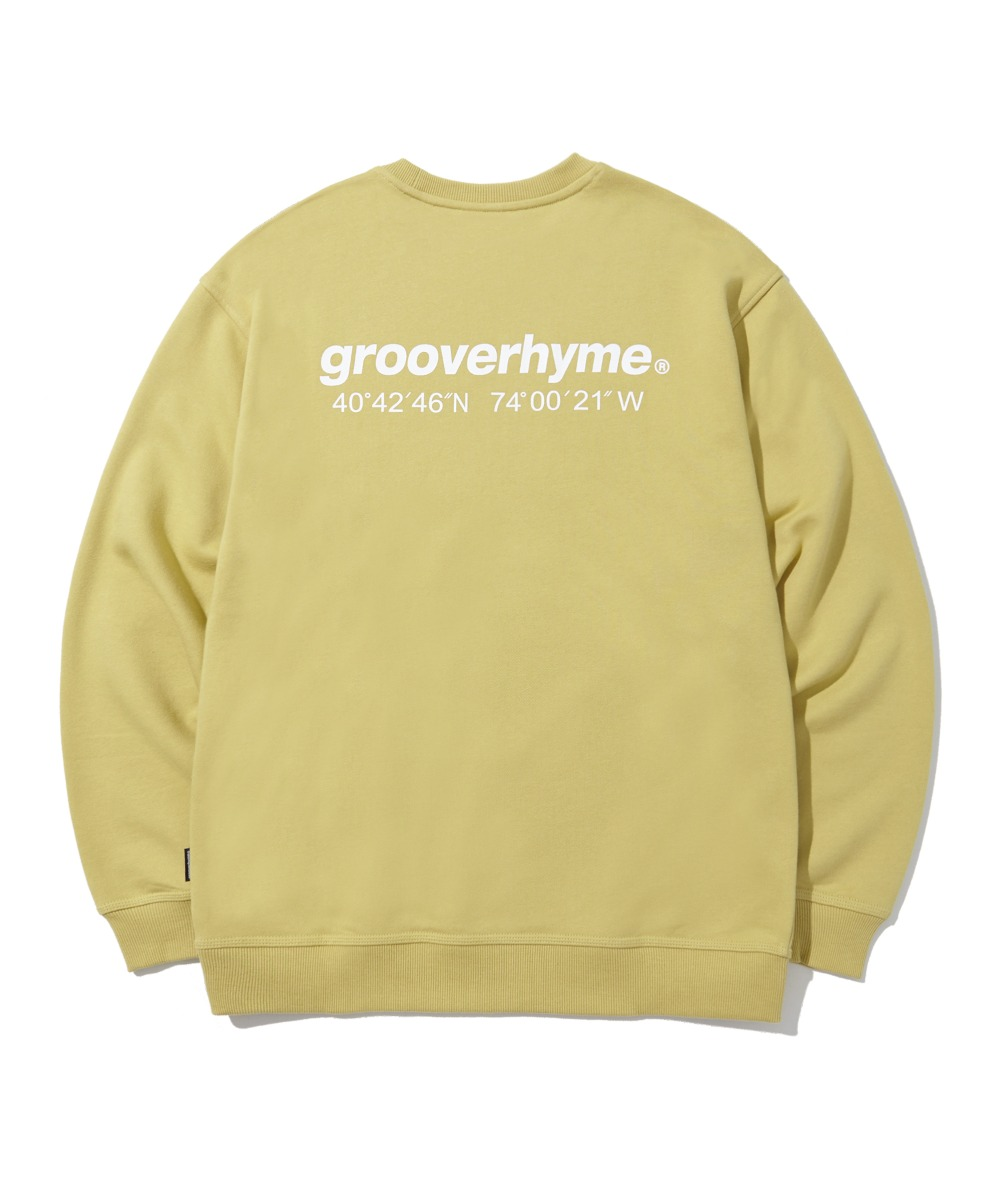NYC LOCATION SWEAT SHIRTS (OLIVE) [LROFCTM711MOVA]