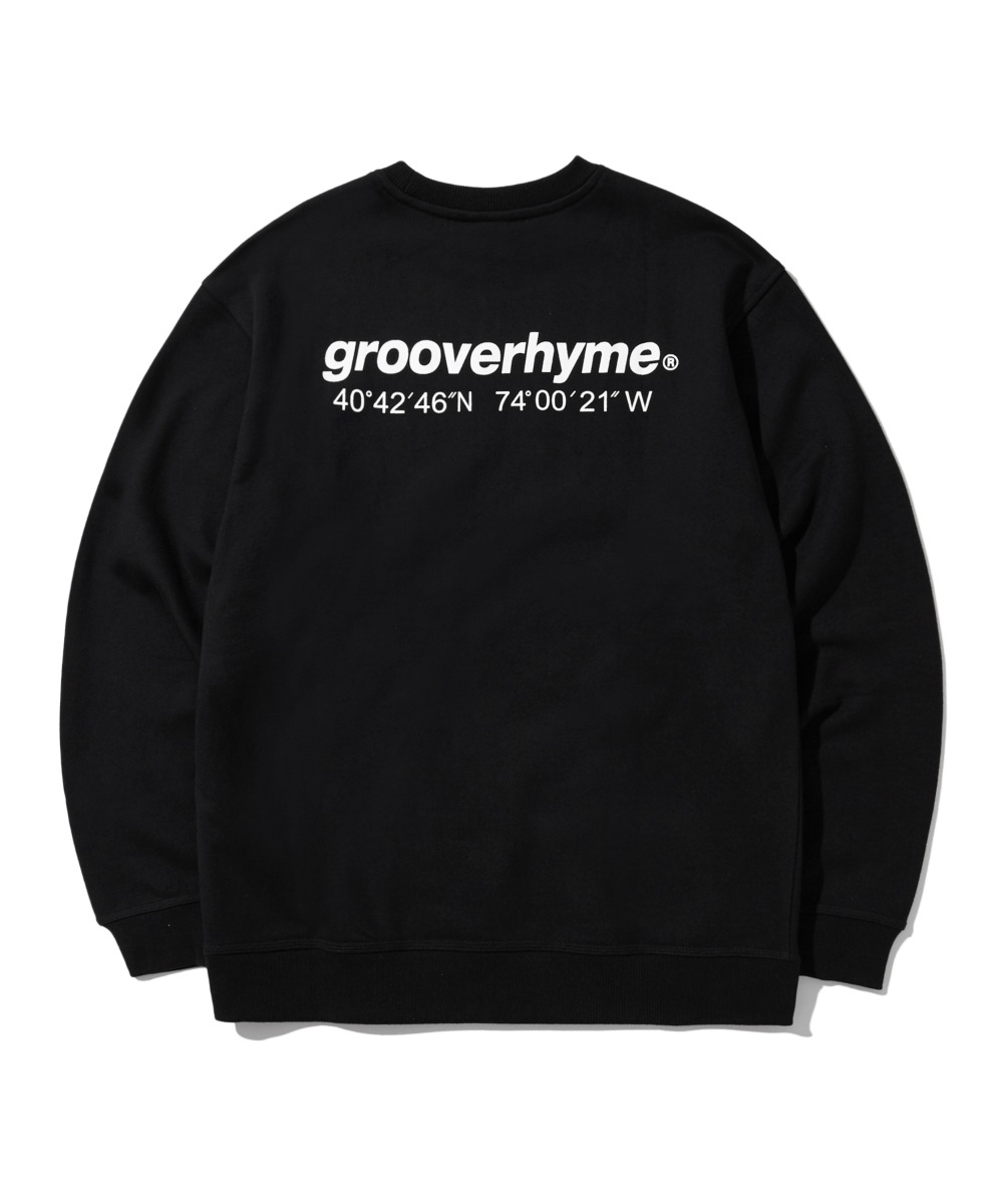 NYC LOCATION SWEAT SHIRTS (BLACK) [LRPSCTM301MBKA]