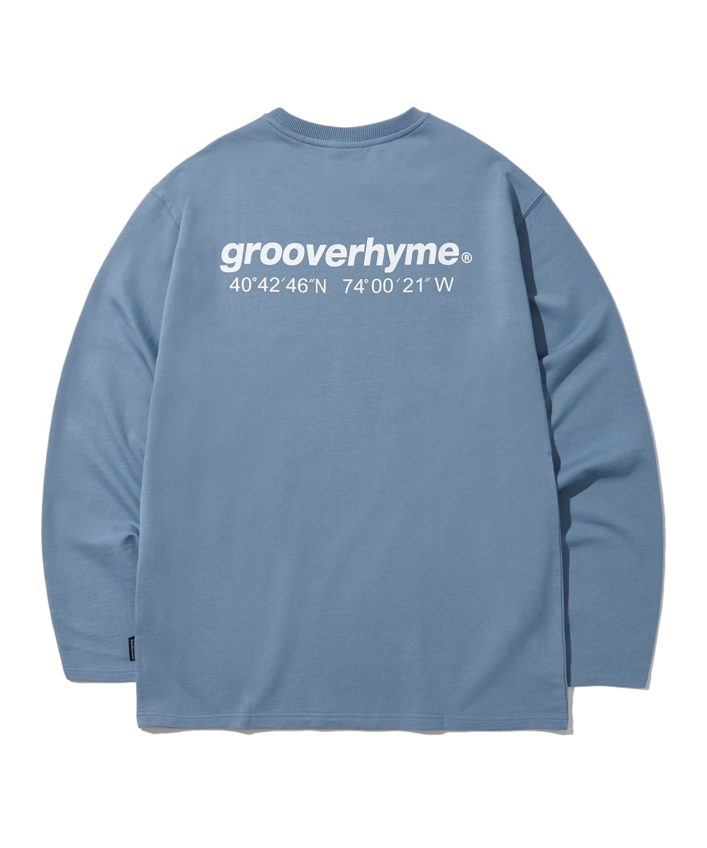 NYC LOCATION LONG SLEEVE T-SHIRTS (BLUE) [LROFCTR721MBLA]