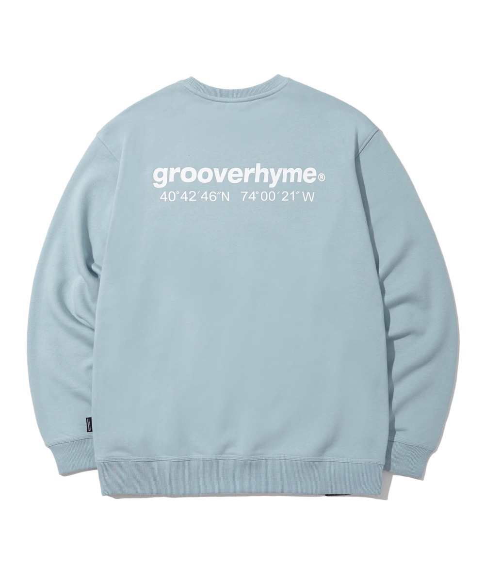 NYC LOCATION SWEAT SHIRTS (LIGHT BLUE) [LRPSCTM301MBLL]