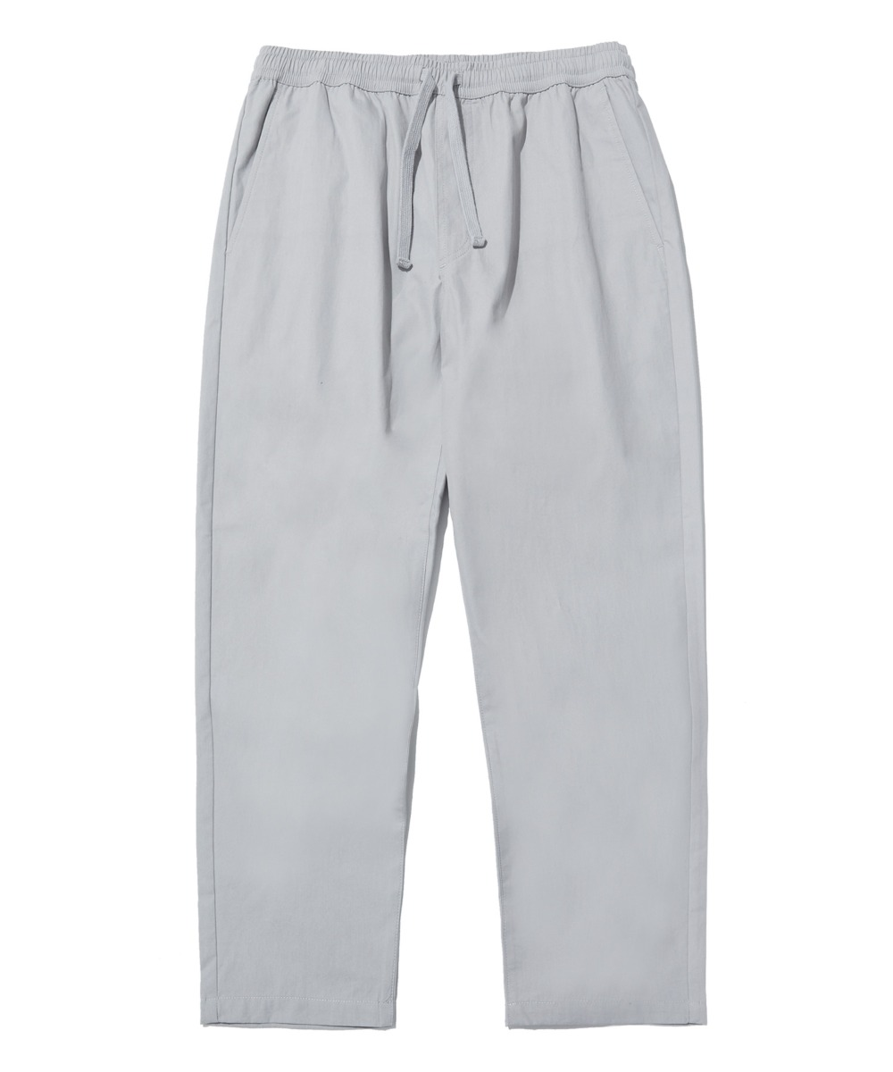 COMFORTABLE TAPERED CROP PANTS (GREY) [LRPSCPA712MGYA]