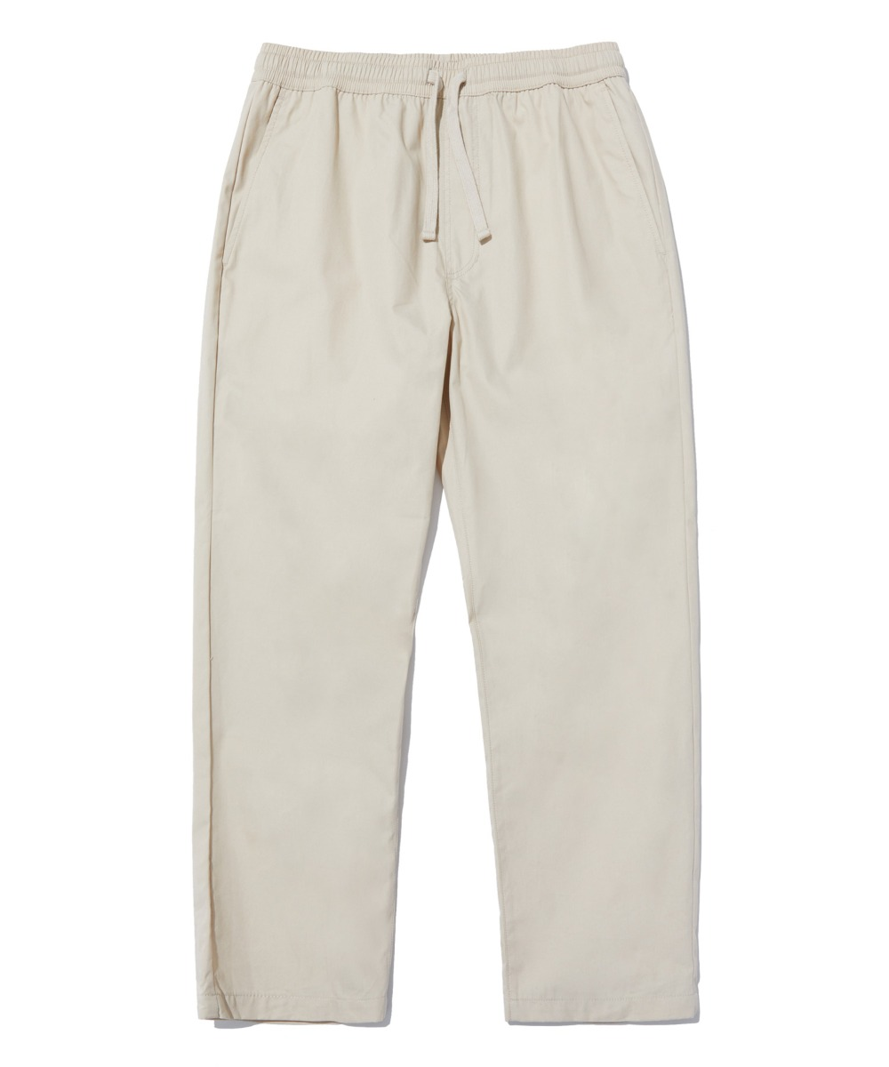 COMFORTABLE TAPERED CROP PANTS (BEIGE) [LRPSCPA712MBEA]